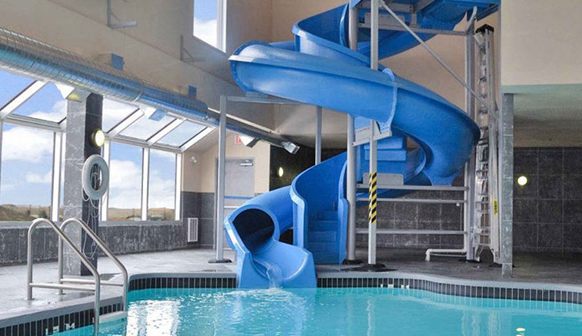 indoor pool with waterslide. Indoor Pool And Water Slide With Waterslide